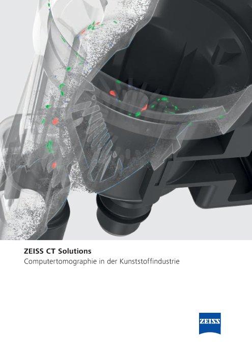 CT Solutions in der Kunststoffindustrie Broschüre, DE