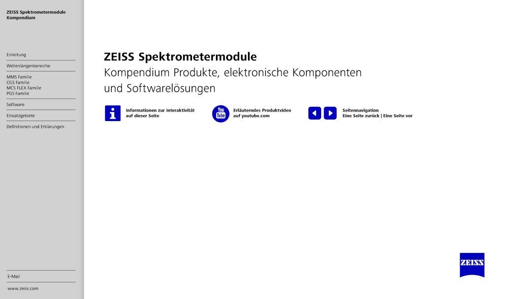 ZEISS Spektrometermodule
