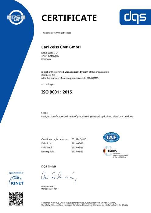 Qualitätsmanagementsystem BelOMO