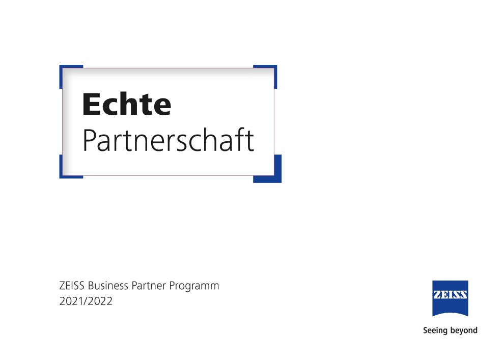 ZEISS Business Partner Programm