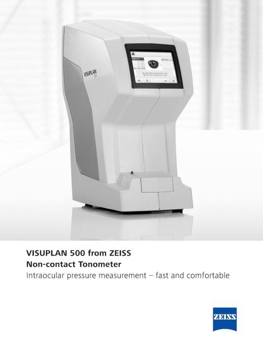 VISUPLAN 500 data sheet